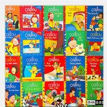 새로운 20 권/세트 caillou 고전 북미 교육 부모 자식 독서 그림책 영어 이야기 책 어린이 선물
