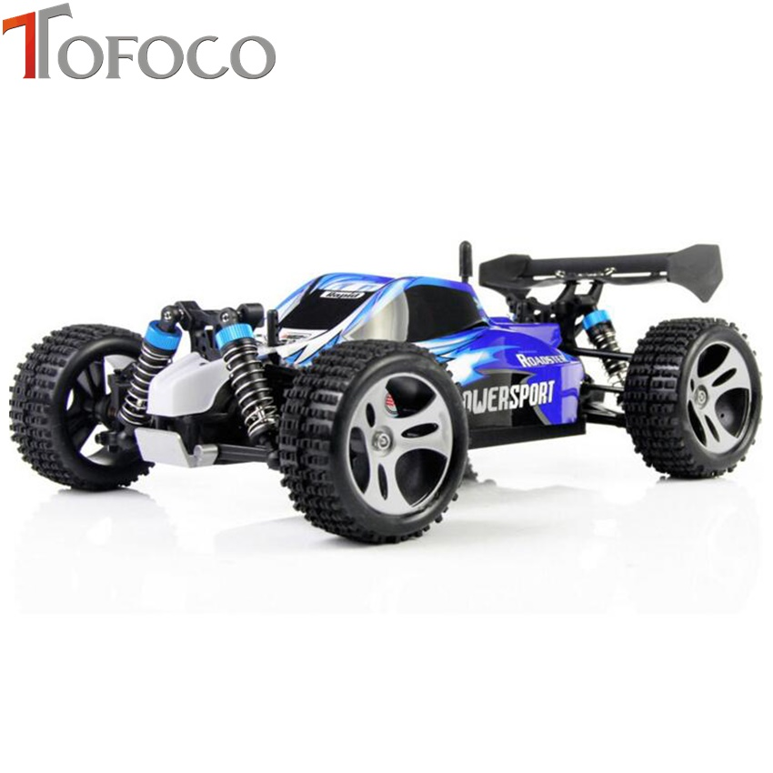 TOFOCO High Speed 4WD RC Car Updated Version A959 2.4G Radio Control Truck RC Buggy Highspeed Off-RoadTOFOCO High Speed 4WD RC Car Updated Version A959 2.4G Radio Control Truck RC Buggy Highspeed Off-Road