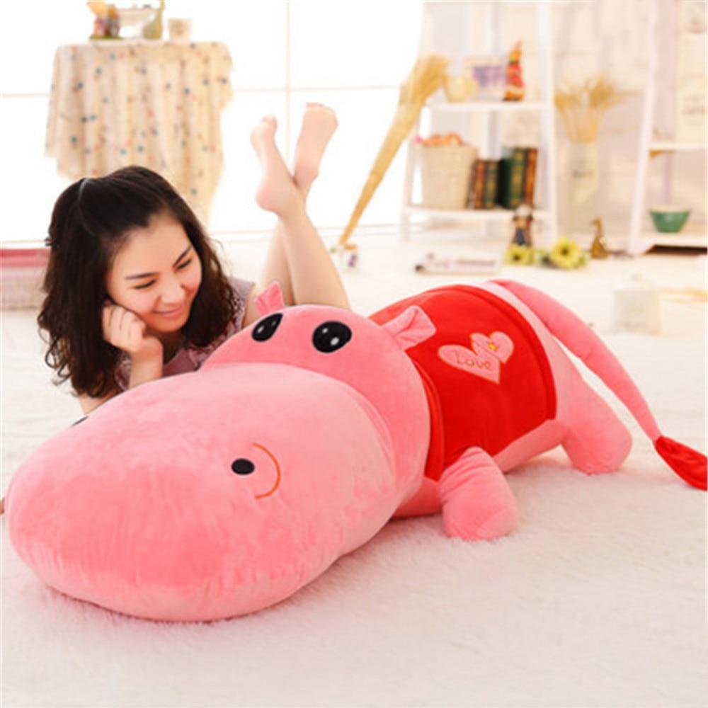 Aliexpress.com : Buy Fancytrader Jumbo Hippo Plush Toys for ...