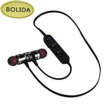 Bolida LY-11 Bluetooth Sem Fio Fone De Ouvido Esporte de Corrida Ímã Estéreo Fones De Ouvido Com Microfone Do Fone De Ouvido fone de Ouvido Para o iphone
