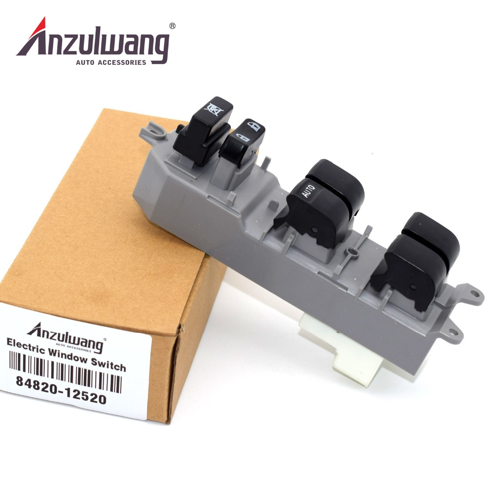 Auto Parts 84820-12520 8482012520 Power Window Lifter Regulator Master Control Switch For <font><b>Toyota</b></font> <font><b>Auris</b></font> Corolla RAV4 image
