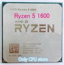 AMD Ryzen 5 1600 R5 1600 3.2 GHz Six-Core CPU Processoe YD1600BBM6IAE Socket AM4 Free Shipping