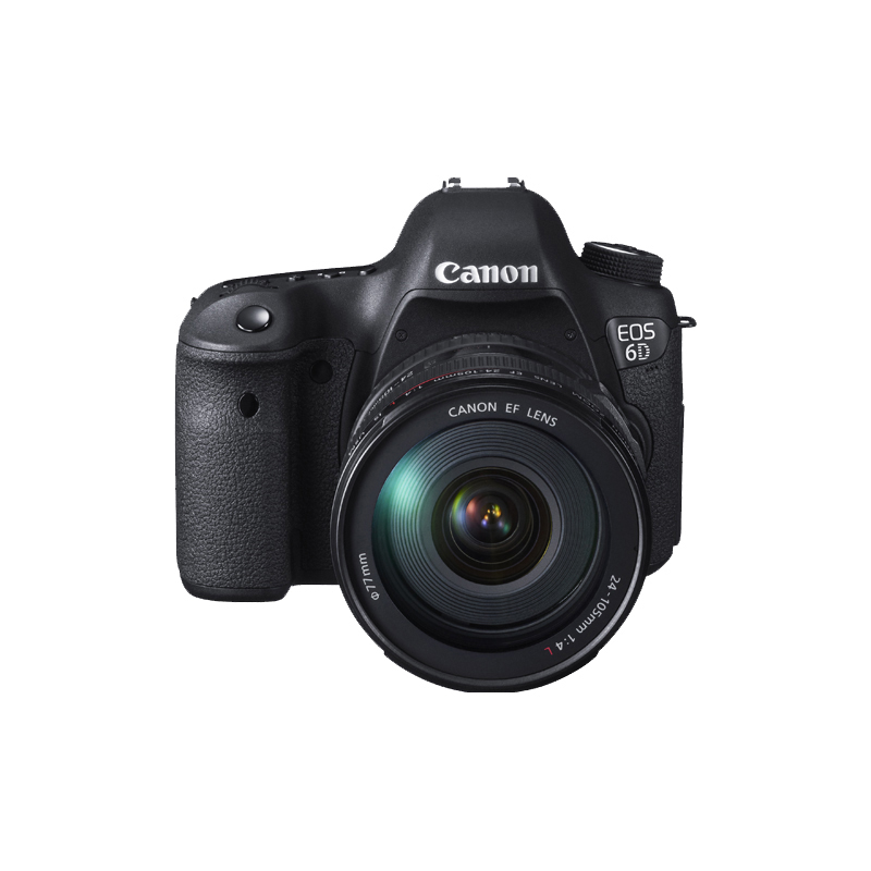 Canon EOS 6D 20.2MP Full Frame DSLR Camera Body + EF 24 105mm F4 L ...