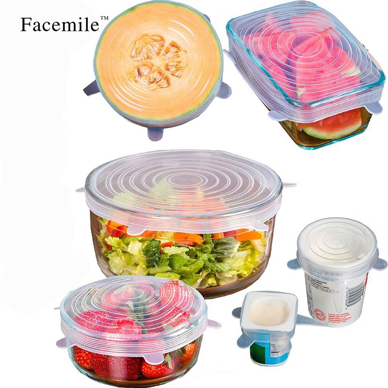 Fresh, Stretch, Wrap, Cover, Lid, Tools