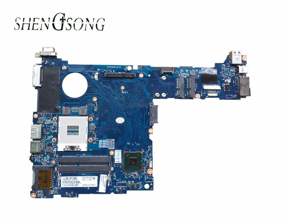 685404-601 685404-501 Free Shipping For HP Elitebook 2570P laptop motherboard integrated 685404-001 6050A2483801-MB-A02 685404 001 laptop motherboard for hp 2570p qm77 j8a ddr3 mainboard full tested