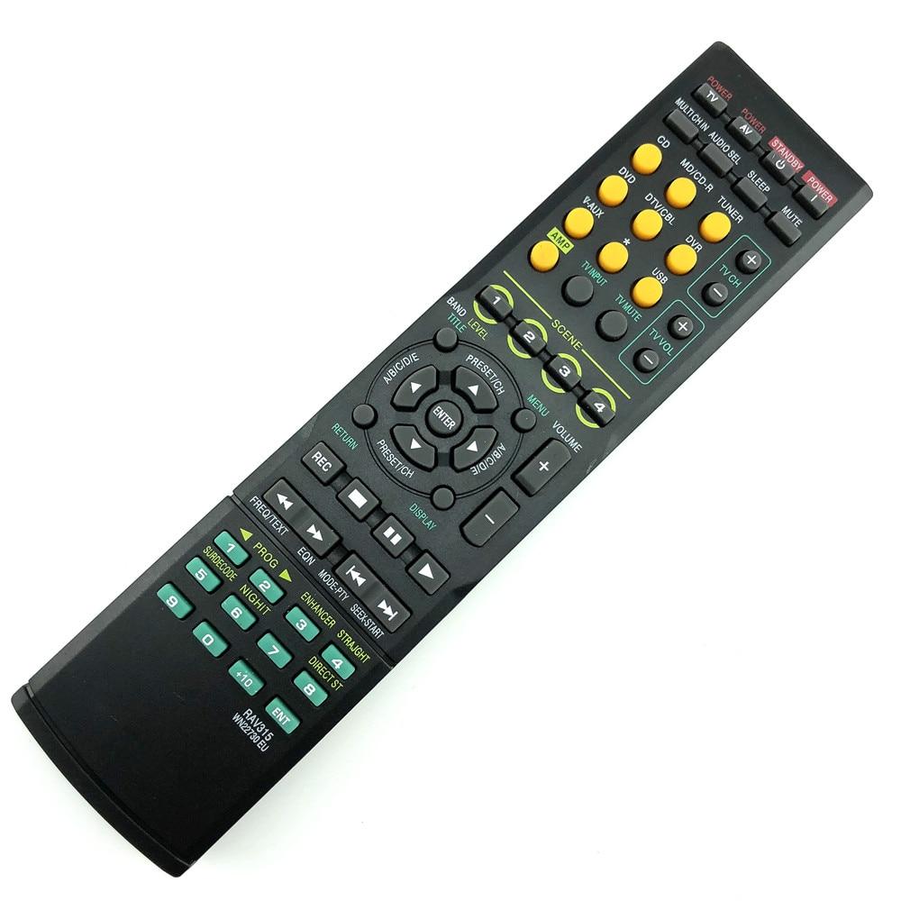Universal Remote replace remote Control For YAMAHA RAV315 YHT380 WJ409300 HTR-6040 WN22730 HTR-6050 Audio Receiver RX-V450 universal remote control suitable for yamaha rav22 wg70720 home theater amplifier cd dvd rx v350 rx v357 rx v359 htr5830