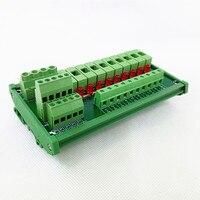 Fuse Module DIN Rail Mount 10 Position Fuse Power Distribution Module