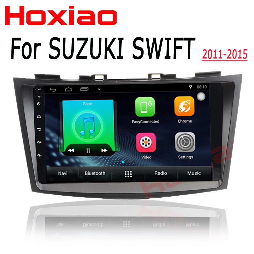 Android 7.1 Car Radio for SUZUKI SWIFT 2011-2015 1024*600 Quad Core wifi Bluetooth video audio 2 din car dvd Multimedia player