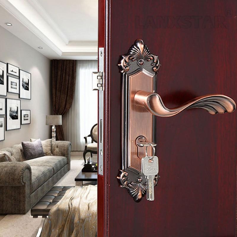 ФОТО Manufactruer Selling Zinc Alloy Handle Lock Room Mute Lockset Accessories Exquisite Fashionable Locks