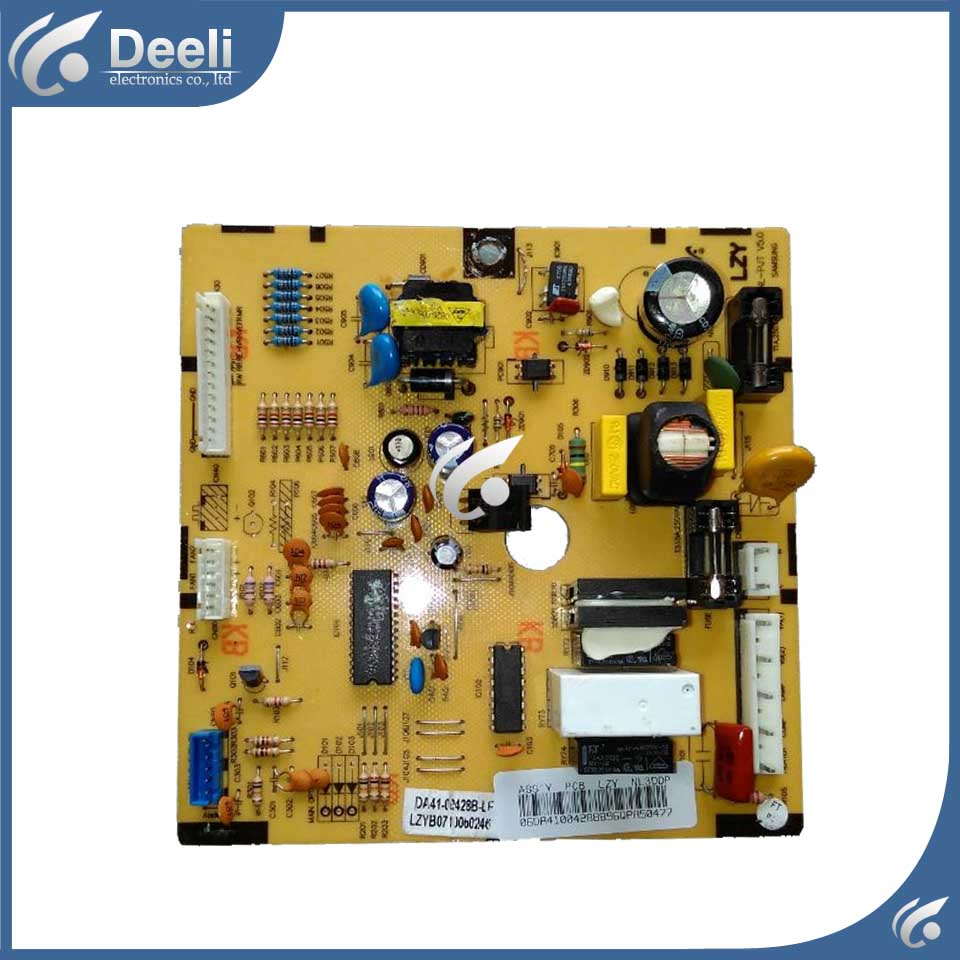 95% new Original good working refrigerator pc board motherboard for samsung DA41-00428B-LF BCD-252/27 good working used board for refrigerator computer board power module da41 00482j board