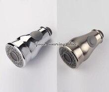 Ziehen ersatz küche wasserhahn kopf sprayer chrom nickel gebürstet optional