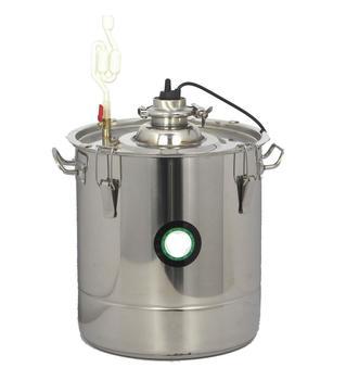 30L 301 Edelstahl Thermostat Gärung Barrel Hause Brauen Wein Bier