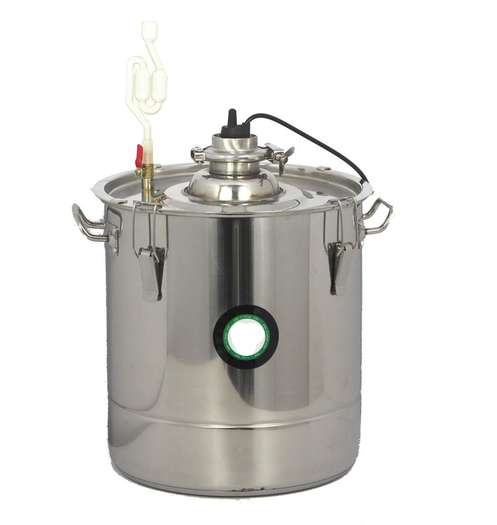 30L 301 Stainless Steel Thermostatic Fermentation Barrel Home Brew Wine Beer fermentation technology