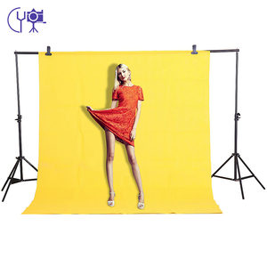 Image 3 - CY In stock 1.6x3m yellow Cotton Non Woven Textile Muslin Photo Backgrounds Studio Photography Screen Chromakey Backdrop
