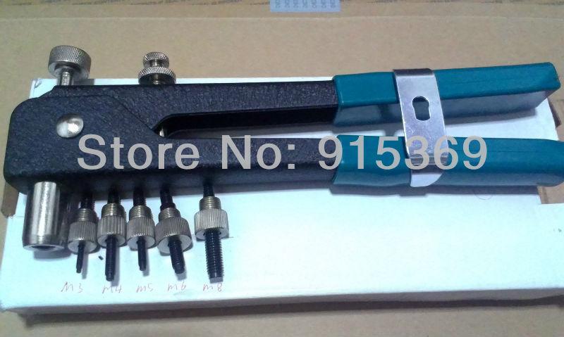 US $69 0 |50pcs Rivet nut tool kit M3 M8 Rvieting Tool assortment Inserting  nut tool rivet nut gun kit PEM nut insert tool-in Riveter Guns from Tools