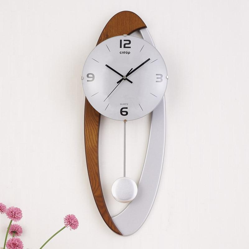 Grote wandklok Saat Reloj klok Duvar Saati digitale wandklokken - Huisdecoratie - Foto 3