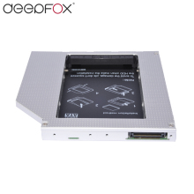 "Deepfox New 12.7mm Universal Aluminum Alloy 2nd HDD Caddy IDE to SATA 2.5"" HDD SSD Case DVD/CD-ROM Optical Bay For Laptop"