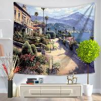 Tapestry Beach Carpet All Purpose Covers Many Uses View Scenic Printed Instagram Fashion Photo Background Wall