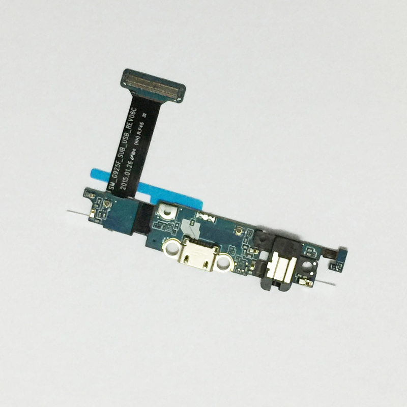 For <font><b>Samsung</b></font> <font><b>Galaxy</b></font> <font><b>S6</b></font> Edge G925F Charging Port Flex Cable Dock Connector For <font><b>Samsung</b></font> <font><b>Galaxy</b></font> <font><b>S6</b></font> G920F Charger <font><b>Board</b></font> USB image