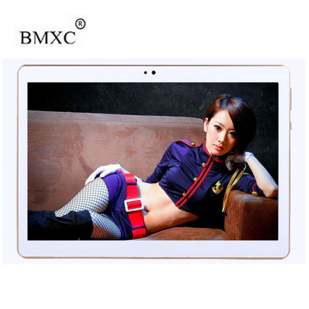 BMXC 10.1 inch 4G LTE Tablets PC Octa Core Android 7.0 RAM 4GB ROM 32GB Dual SIM Cards 1920*1200 IPS HD GPS 10  inch Tablet PCs