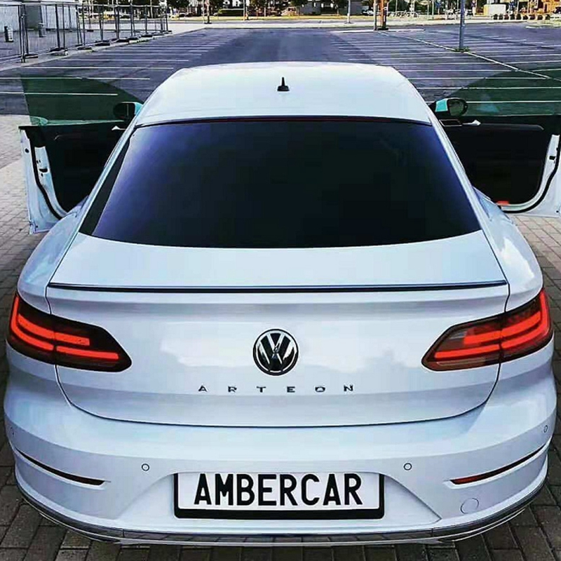 For Volkswagen New CC Spoiler 2018 2019 High Quality ABS