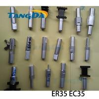 Accesorios de fijación Tangda ER35 EC35 interfaz: 12mm para transformador conector de esqueleto abrazadera de mano máquina Inductor Clips Accesorios