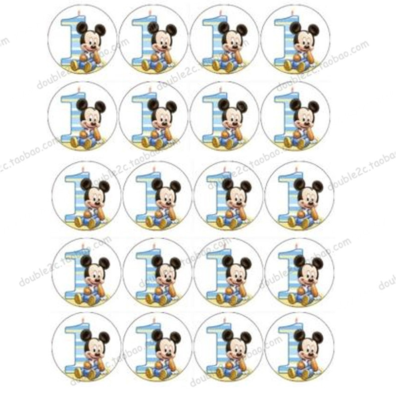 Online Get Cheap Mickey Birthday Cake Topper Aliexpresscom
