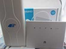 Set of Unlock Huawei B315, 4g portable wireless router huawei b315s-22 lte wifi router+49dbi SMA antenna