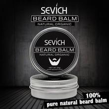 """""""Sevich Men Beard Balm"""" palikite drėkinančią priemonę """"Cream Beard"""" priežiūros aliejaus tepimo kremas 30g stiliui drėkinančiam kondicionieriui"""