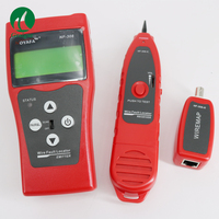 NF 308 Multipurpose Cabo Coaxial Cabo de Rede LAN Cable Tester Comprimento 5E 6E RJ45 NF308 NF 308|cable coaxial|cable length|cable length tester -