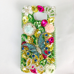 Image 4 - Luxe BRICOLAGE Cristal Diamant 3D Papillon Bling pour Samsung Galaxy A50 A70 A10 A20 A20E A40 A21S A30S A41 A31 A51 A71 A90 5G