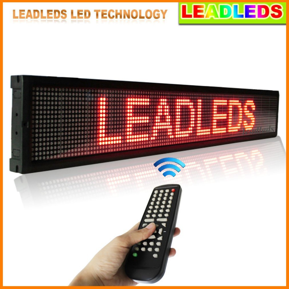 16 128 Pixel Led Display Keyboard Remote Control