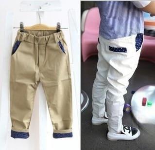 white pants boy - Pi Pants