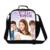 Muchachas lindas del hombro bolsas de almuerzo, violetta bgas refrigerador pequeño envase del almuerzo bolsa lonchera bolsas de almuerzo de la historieta para adultos para la oficina