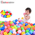 50pcs/lot 5.5cm Colorful Ball Soft Plastic Ocean Ball Funny Baby Kid Swim Pit Toy Water Pool Ocean Wave Ball Outdoor Sports Toy