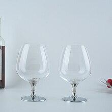 Oh Trend бокал для бренди, хрустальный бокал для вина es, индивидуальное стекло для виски, нержавеющая стальная подставка, свадебный бар, стекло для дома, посуда для напитков