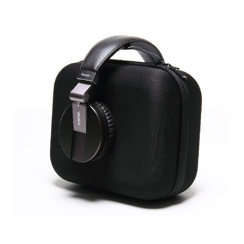 Black Portable Digital Accessories EVA Bags Storage Bag For Headphone HDD Carry Case Large Capacity Organizer Pouch