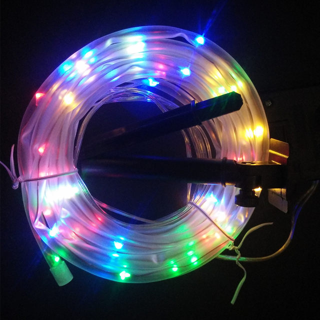 Solar Led String Lights Outdoor Awesome Online Shop 60M 60leds Solar LED String Lights Outdoor 60 Colors