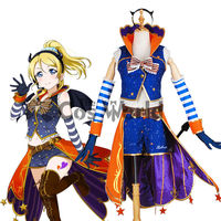Love Live School Idol Project Ayase Eli Halloween Fancy Uniform Outfit Anime Customize Cosplay Costumes