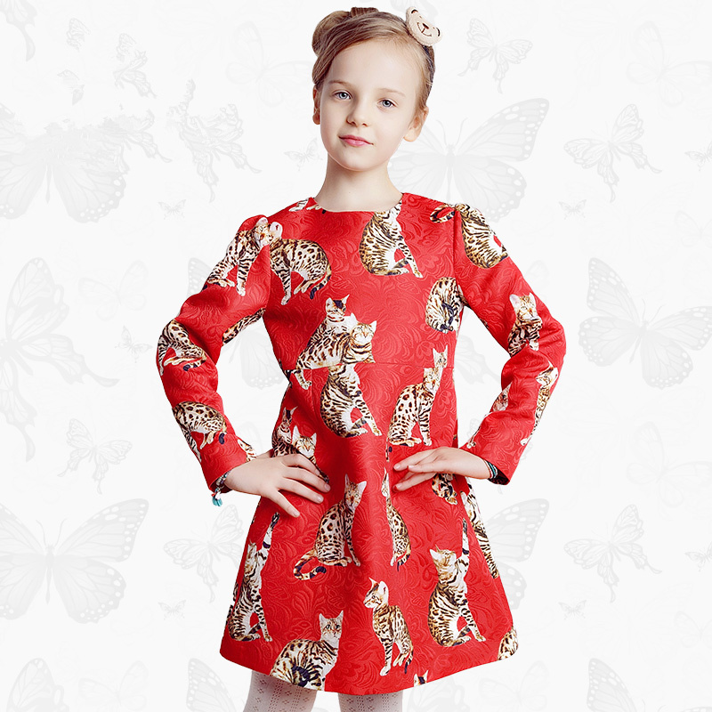 Toddler Girls Dresses Children Clothing 2017 Brand Princess Dress for Girls Clothes Fish Print Kids Beading Dress 1 29 канделябр венецианский stilars канделябр венецианский