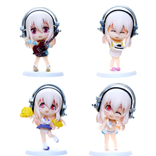 ZXZ 10cm Cute Super Sonic Beautiful Sexy Girl bikini Anime PVC figure Toys Action Figure Toys Collection Model Decoration