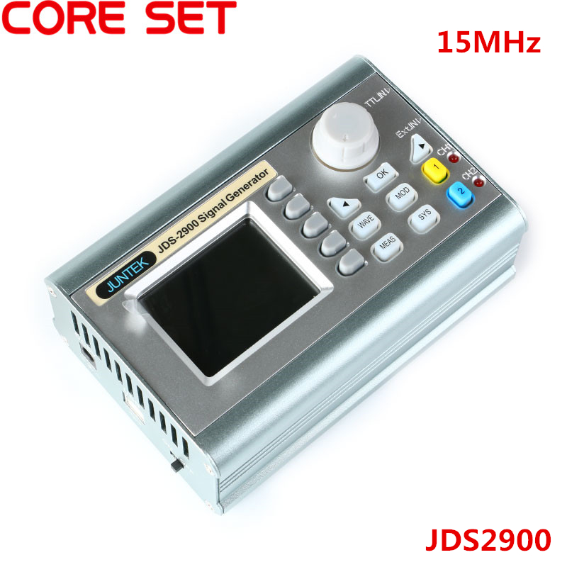 JDS2900 15MHz DDS Function Signal Generator Counter JDS-2900 Digital Control Dual Channel