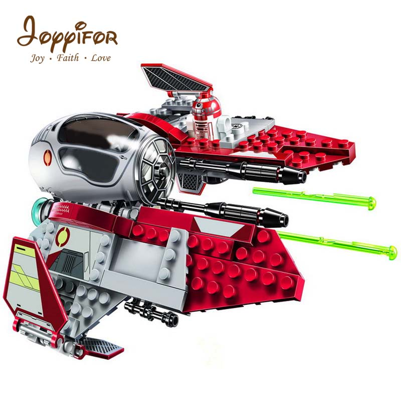 Toys & Hobbies Blocks Cheap Sale 220pcs Legoings Star Wars Obi-wans Jedi Interceptor Building Blocks Toy Kit Diy Educational Christmas Birthday Gifts Ninjago Preventing Hairs From Graying And Helpful To Retain Complexion