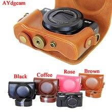 Новые кожаные Камера видео чехол для Canon PowerShot G7XII G7X Mark 2 G7X II G7X2 из искусственной кожи Камера случае комплект чехол с ремешком