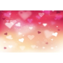 Laeacco Light Bokeh Love Heart Valentines Day Romantic Fairytal Scene Photographic Backdrop Photography Photo Studio Background