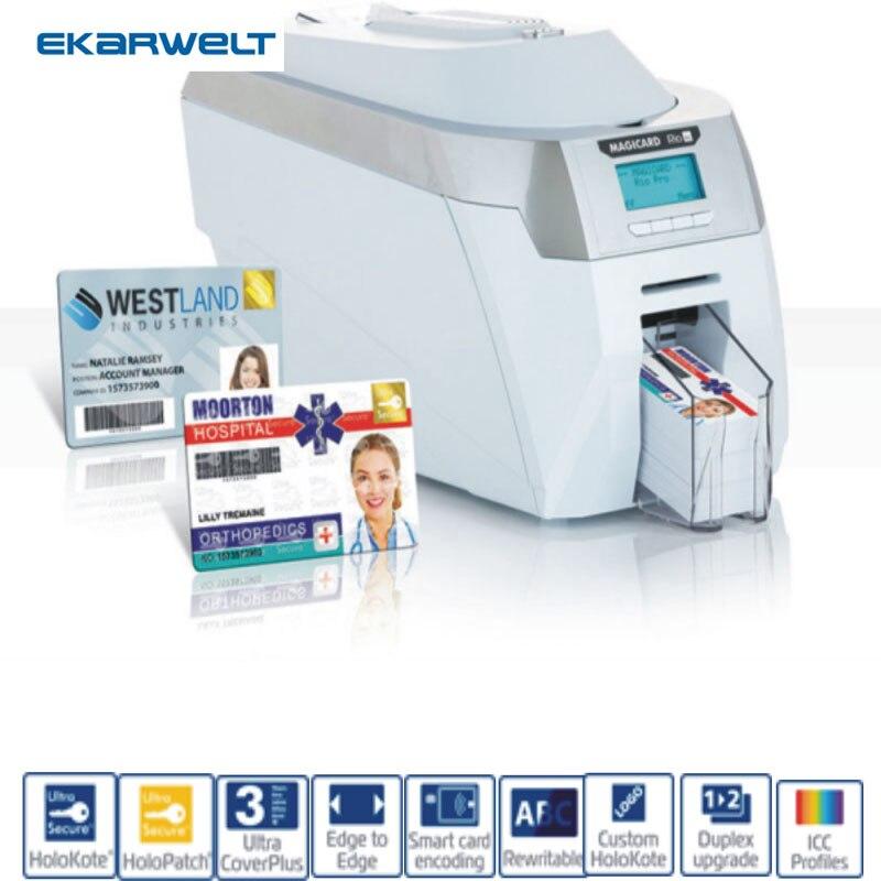 Imprimante à double face pour carte d'identité PVC