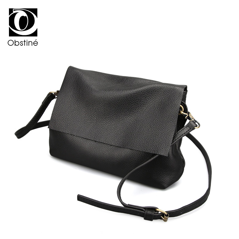 100% Genuine Leather Women Shoulder Bags Simple Fashion Real Skin Cowhide Simple Messenger Bags Leisure Female Messenger Bag soft cowhide genuine leather women shoulder bags fashion handbags simple european style boston messenger bag pillow female packs