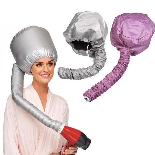 1 adet Saç Maskesi Pişirme Yağı Kap Şapka saç kurutucular Isı Pratik Güvenlik Saç Bakımı Tedavisi Güzellik Steamer SPA Isıtmalı Hood kap