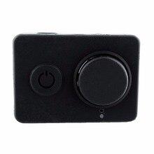 Защитный силиконовый чехол кожного покрова для xiaomi yi действие спорт dv камеры крышка объектива крышка бесплатная доставка хорошего качества
