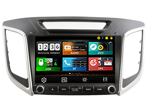 Android 7.1.1 & 8.0 CAR DVD PLAYER ROCKCHIP px3 PX5 solution FOR HYUNDAI ix25 multimedia player bluetooth gps